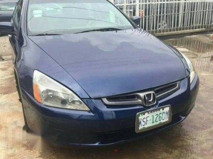 Honda Accord 2005 Blue