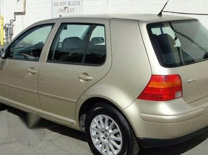 Clean Volkswagen Golf4 1996 Gold