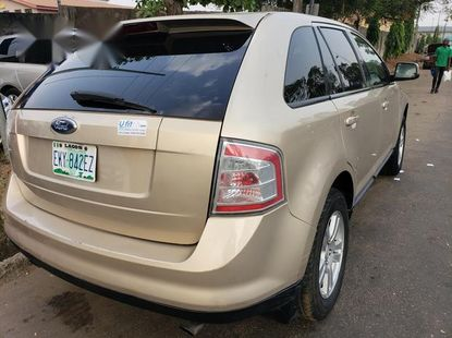 Ford Edge 2008 Goldfor sale