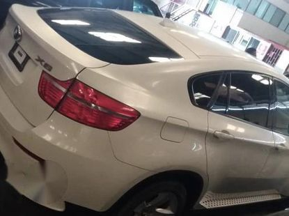 Used BMW X6 2011 White for sale