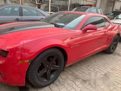 Chevrolet Camaro 2011 Red for sale