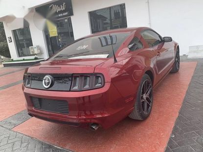 Ford Muatang GT 2014 Red for sale
