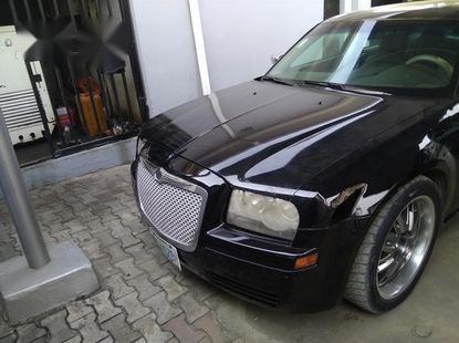 Nigerian Used Chrysler 300C 2008 Black for sale