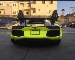 Lamborghini Aventador 2014 ₦155,000,000 for sale