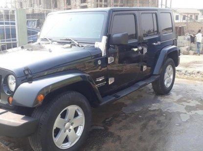 Tokunbo Jeep Wrangler 2008 Black For Sale