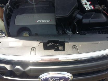 Clean Ford Edge Sport 2011 Black for sale