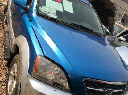 Kia Spectra Sport 2004 Blue for sale