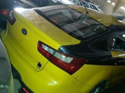 Kia Rio 2011 Yellow for sale