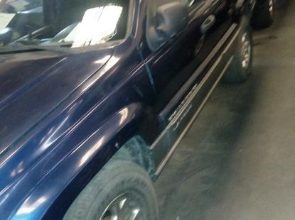 Jeep Cherokee 2001 Blue for sale