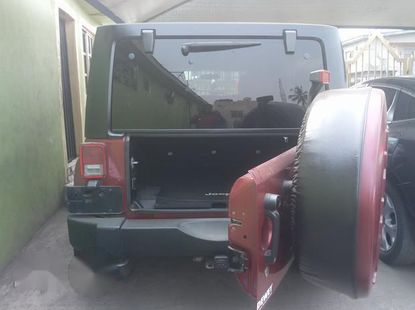 Tokunbo Jeep Wrangler 2014 Red for sale