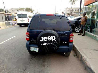 Sharp Used Jeep Liberty 2006 Blue for sale