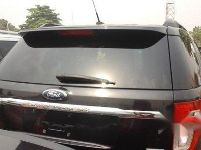 Clean Ford Explorer 2013 Black For Sale