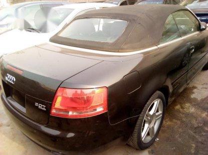 Clean Audi A4 2007 Black for sale