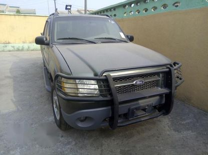Ford Explorer 2002 Gray for sale