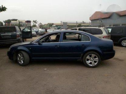 Super Clean Skoda Superb 2008 Blue for sale