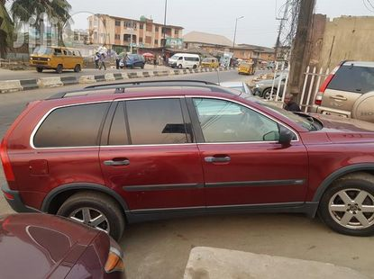 Volvo X90 2005 Red for sale