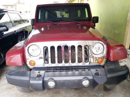 Jeep Wrangler 2011 Red for sale