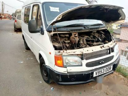 Ford Transit Bus 2002 White for sale