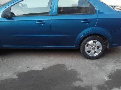 Chevrolet Aveo 2005 Blue for sale