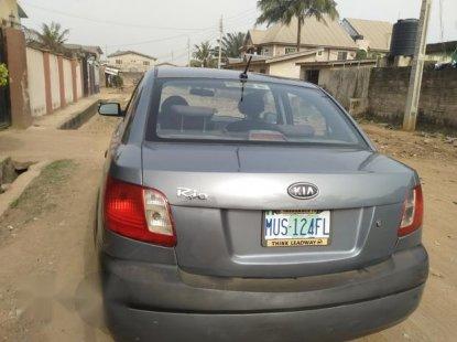 Nigerian Used Kia Rio 2005 Gray for sale