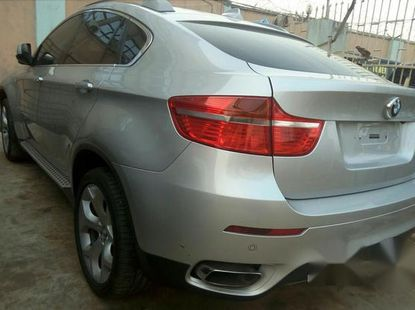 BMW X6 2009 Silver for sale
