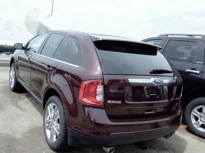 Ford Edge 2012 Wine for sale