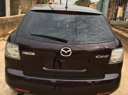 Used Mazda CX-7 2007 Purple for sale