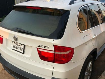 BMW X5 2007 White for sale