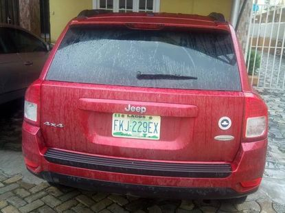 Jeep Compass 2011 Red for sale