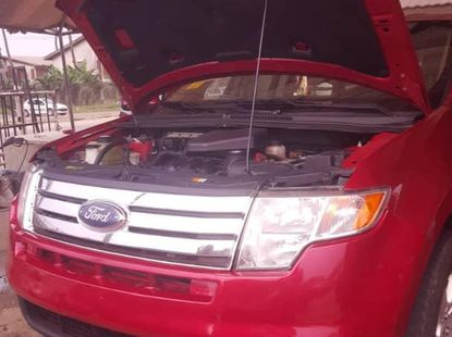 Tokunbo Ford Edge 2008 red for sale