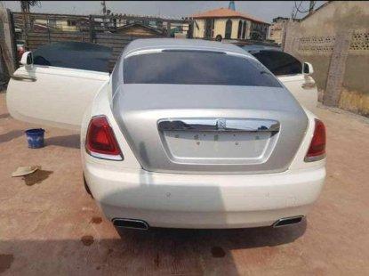 Rolls Royce 100 2017 White