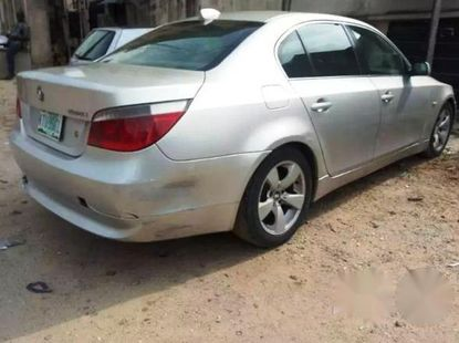 BMW 5 Series 2005 Silver for sale
