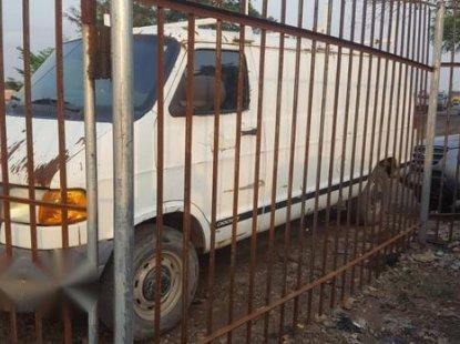 Dodge Ram Van 2001 White for sale