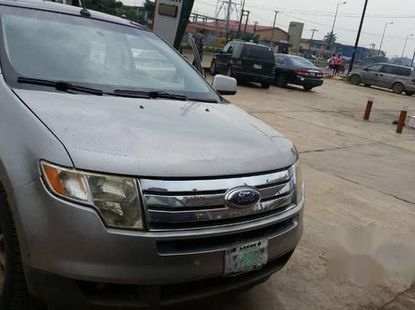 Clean Ford Edge 2008 Gray for sale