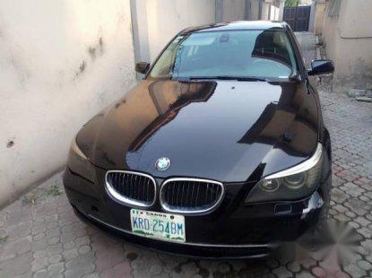 BMW 520i 2005 Black for sale