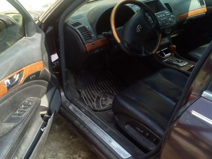 Clean Infiniti QX 2003 Red for sale