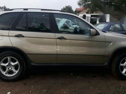Clean BMW X5 2003 Silver for sale