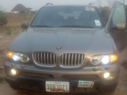 BMW X5 2004 Gray for sale