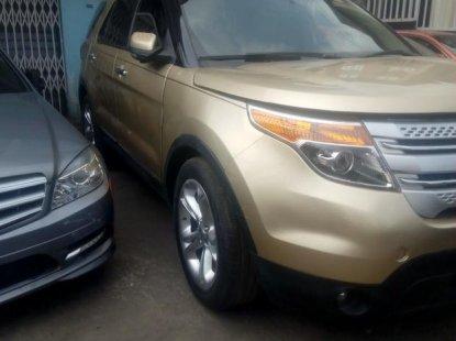 Ford Explorer 2011 Gold for sale