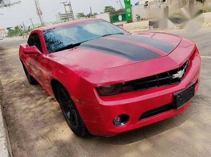 Chevrolet Camaro 2012 Red for sale