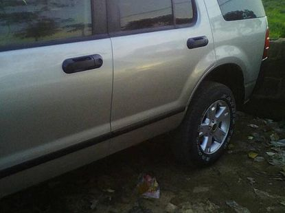 Ford Edge 2005 Gray for sale