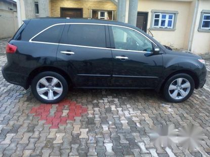 Clean Acura MDX 2010 Black for sale