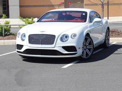 Bentley Continental 2016 White for sale