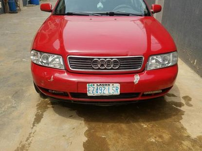 Audi A4 1997 Red for sale