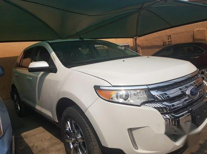 Ford Edge 2013 White for sale