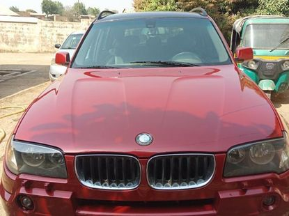 Clean BMW X3 2005 Red For Sale