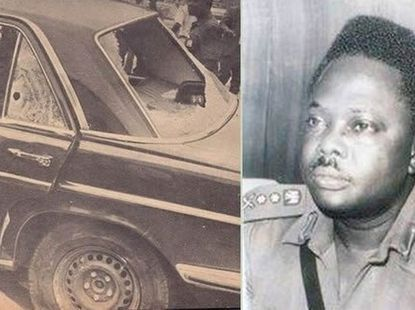 Murtala Muhammed who was assasinated in a Mercedes-Benz