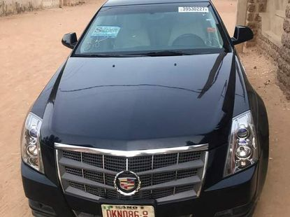 Cadillac CTS 2008 Blue for sale