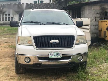 Ford F150 2006 White for sale
