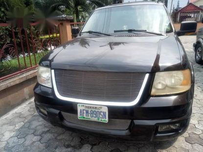 American Ford Expedition 2004 Black for sale